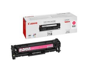 Тонер-картридж пурпурный Canon 718, 2660B002