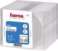 Коробка Hama на 1CD/DVD H-51165 Slim Box прозрачный (упак.:25шт)
