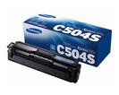 Купить Тонер-картридж голубой Samsung CLT-C504S, SU027A, Голубой