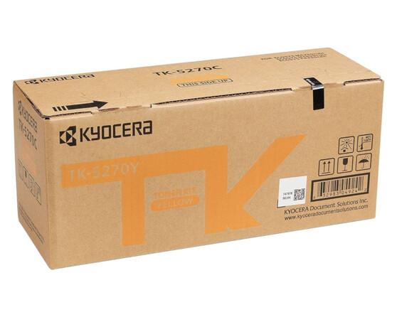 Тонер-картридж желтый Kyocera TK-5270Y, 1T02TVANL0