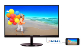 Монитор Philips 224E5QHSB 21.5'' черный