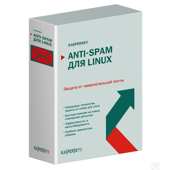 Kaspersky Anti-Spam для Linux (продление лицензии ), Версия на 1 год. Количество почтовых ящиков, KL4713RASFR