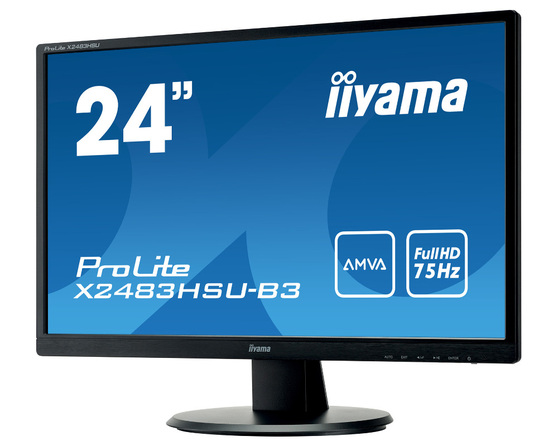 Монитор Iiyama X2483HSU 23.8-inch черный