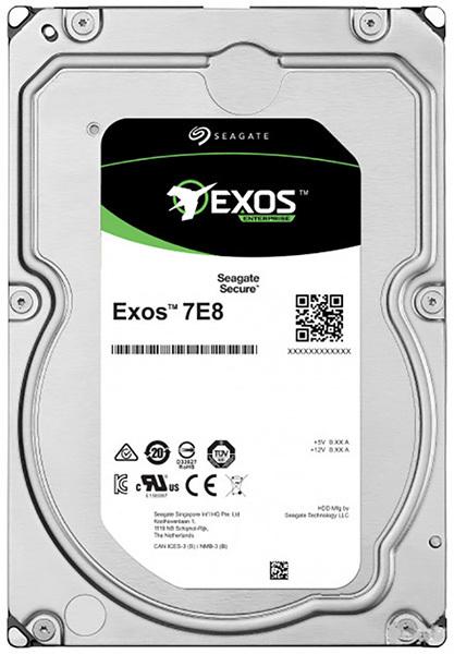 Жесткий диск  SEAGATE Exos 7E8 3.5  4Tb 7.2K SATA3