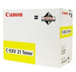 Тонер-картридж желтый Canon C-EXV21, 0455B002 фото