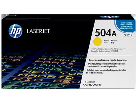 Картридж желтый HP Inc. CE252A