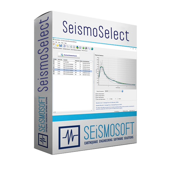 Seismosoft SeismoSelect 2020 (лицензия), Лицензия SeismoSelect 2020 + USB Dongle Key