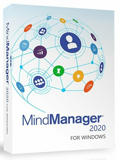 Corel Corporation Mindjet MindManager 2020 (подписка  Site License на 1 год), less than 5000, LCMM20M13SB1SL1