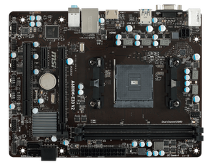 Материнская плата MSI AMD A68H A68HM-E33 V2