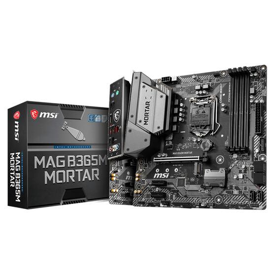 Материнская плата MSI Intel B365 MAG B365M MORTAR