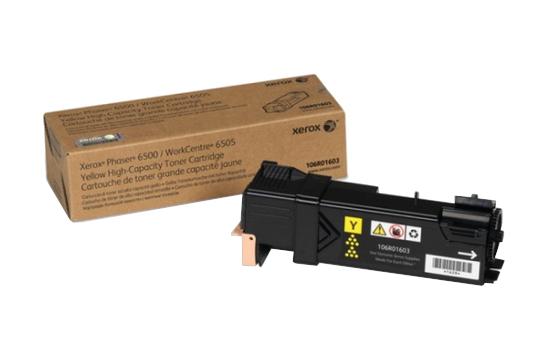 Фото товара Phaser 6500/WorkCentre 6505, желтый тонер-картридж повышенной емкости