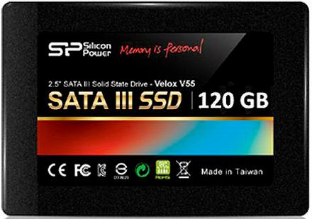 Внутренние SSD Silicon Power Velox V55 120GB