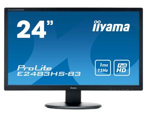 Монитор Iiyama E2483HS 24.6'' черный