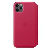 Apple iPhone 11 Pro Max Leather Folio - Raspberry