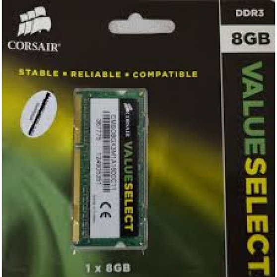 Оперативная память Corsair ValueSelect  CMSO8GX3M1A1600C11, RTL