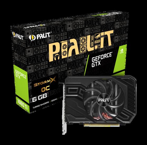 Видеокарта Palit GeForce GTX 1660 Ti 6 ΓБ Retail