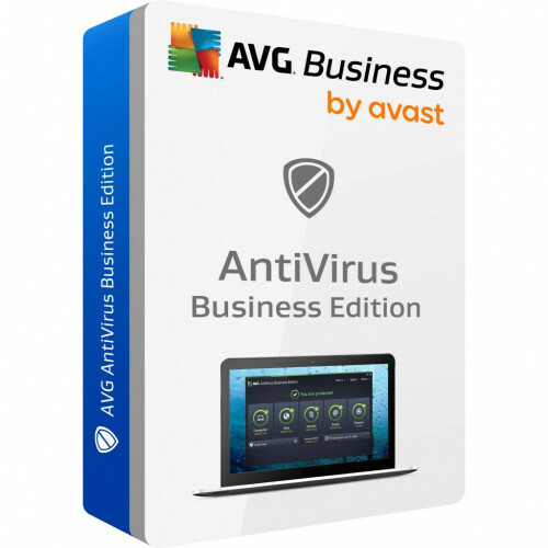 AVAST Software AVG Antivirus Business Edition (лицензия, Per License на 1 год)