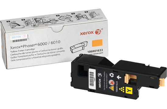 Фото товара Phaser 6000/10 & WorkCentre 6015, тонер-картридж желтый Phaser h6000b