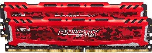 Оперативная память Crucial Desktop DDR4 2666МГц 2x4GB, BLS2K4G4D26BFSE, RTL