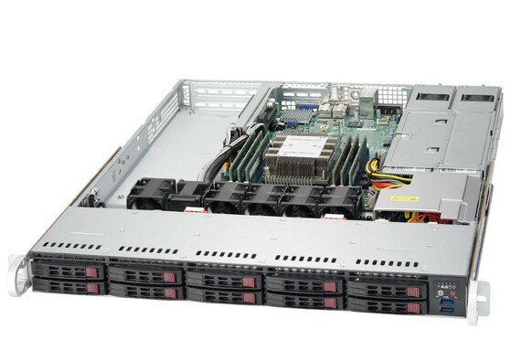 Шасси SUPERMICRO SuperServer 1019P-WTR