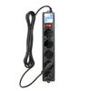Сетевой фильтр Powercube Сетевой фильтр SPG-B-10-BLACK 3м (5 розеток)