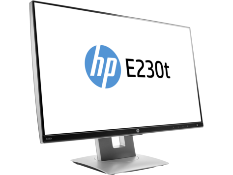 Монитор HP Inc. E230t 23.0'' серебристый