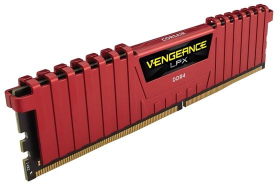 Оперативная память Corsair Vengeance LPX DDR4 2666МГц CMK8GX4M1A2666C16R, RTL