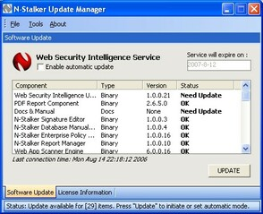 N-Stalker Web Application Security Scanner 2012 Infrastructure Edition