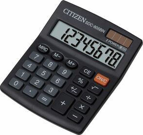 Калькулятор Citizen SDC-8