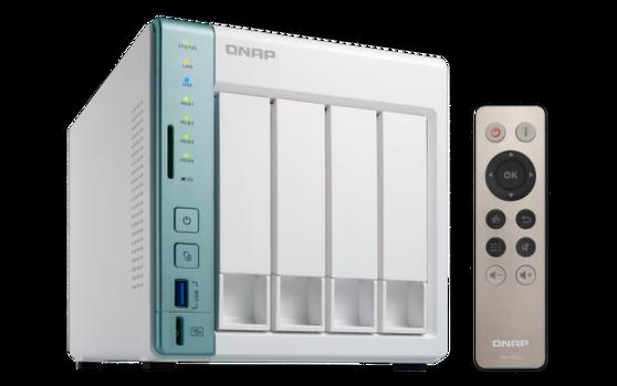 Сетевые хранилища (NAS) QNAP D4 Pro