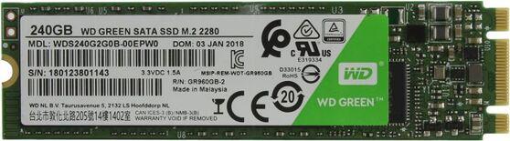 Внутренний SSD Western Digital Green 240GB