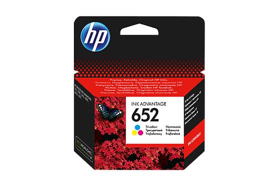 Картридж пурпурный, желтый, голубой HP Inc. 652, F6V24AE