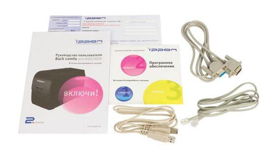 ИБП Ippon Back Comfo Pro New 600 600VA (632582)