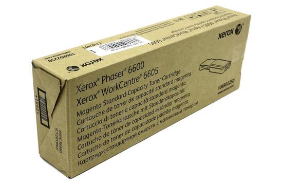 Phaser 6600/WorkCentre 6605, пурпурный тонер-картридж стандартной емкости