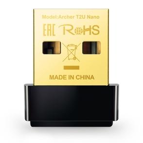 Адаптер Wi-Fi TP-LINK Archer T2U Nano
