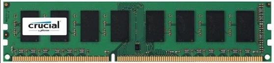 Оперативная память Crucial Desktop DDR3 1600МГц 2GB, CT25664BD160B, RTL