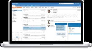 Zimbra Collaboration Suite – Standard Edition, Коммерческая подписка на 1 год, Prem (support), Количество почтовых ящиков 25-249