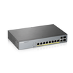 Купить GS1350-12HP L2 коммутатор PoE+ для IP-видеокамер Zyxel GS1350-12HP, rack 19 , 10xGE (8xPoE+), 2xSFP, бюджет