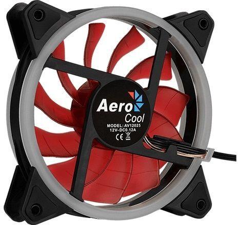Вентилятор Aerocool Rev Red 120