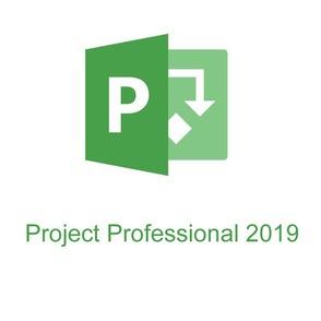 Microsoft Project Professional CAL (коробочная версия), 32/64 English EM DVD
