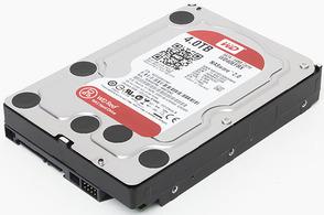 Жесткий диск  Western Digital Red 3.5 EFRX 4TB 7.2K SATA3