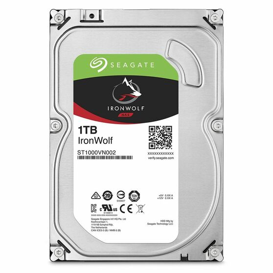 Жесткий диск  SEAGATE Server HDD 3.5  1TB 5.9K SATA3