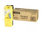 Купить Тонер-картридж желтый Kyocera TK-820, 1T02HPAEU0, Желтый