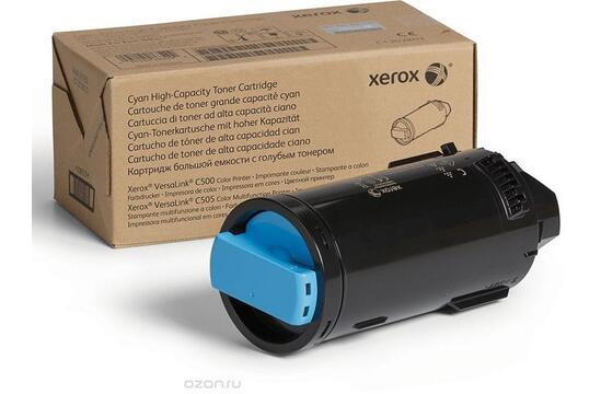 Фото товара VersaLink C500/505, голубой тонер-картридж повышенной емкости