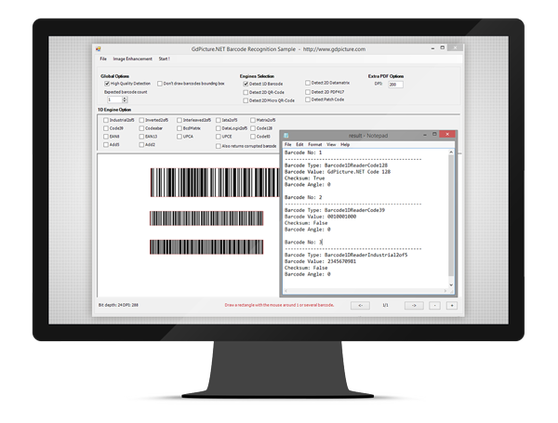 ORPALIS GdPictureNET 1D Barcode Recognition plugin (лицензия), Лицензия Worldwide Site, 1DBV14WP
