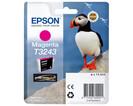 Картридж пурпурный Epson C13T32434010