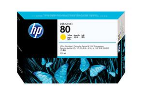 Картридж желтый HP Inc. 80, C4848A