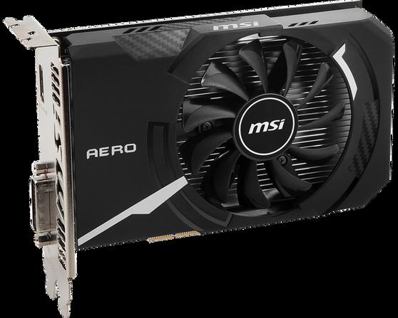 Видеокарта MSI GeForce GT 1030 2 ΓБ Retail