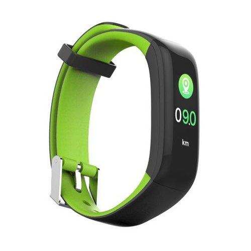 Qumann QSB 09 Black-Green Фитнес браслет