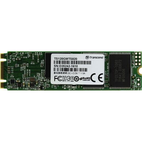 Внутренние SSD TRANSCEND M.2 SSD MTS820S 120GB